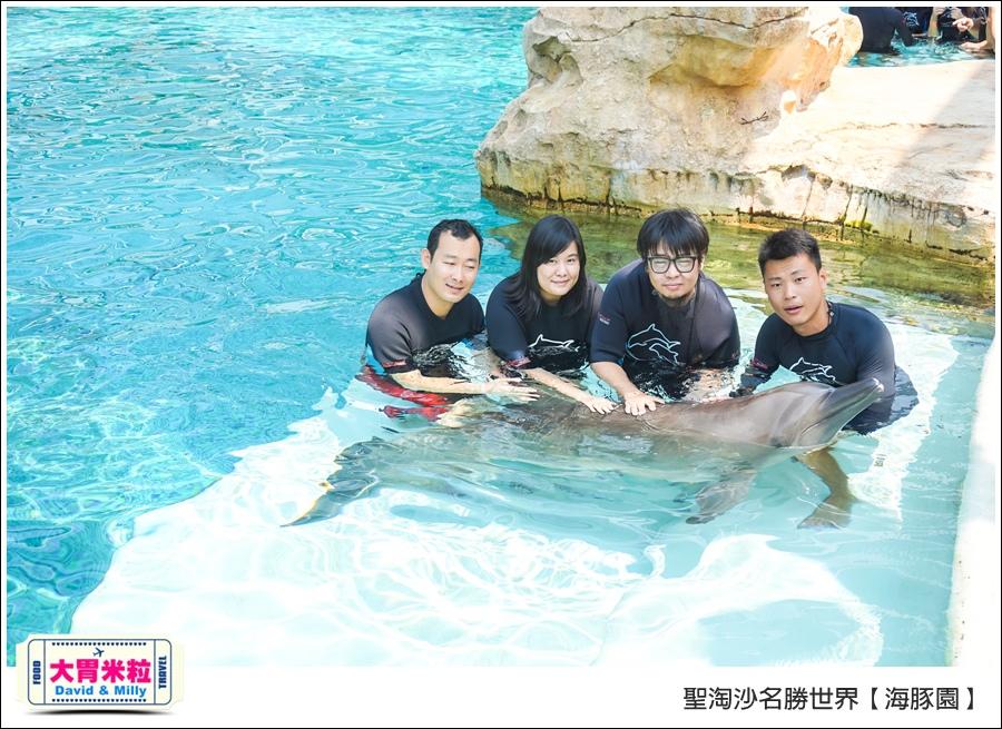 聖淘沙名勝世界必玩@海豚園體驗海豚伴遊@大胃米粒0042.jpg
