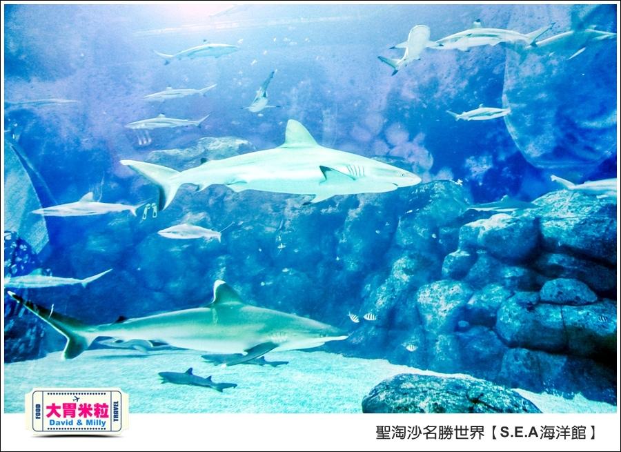 聖淘沙名勝世界必玩@SEA海洋館與海之味餐廳@大胃米粒001 (18).jpg