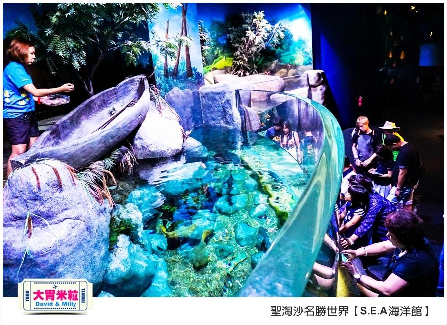 聖淘沙名勝世界必玩@SEA海洋館與海之味餐廳@大胃米粒001 (26).jpg