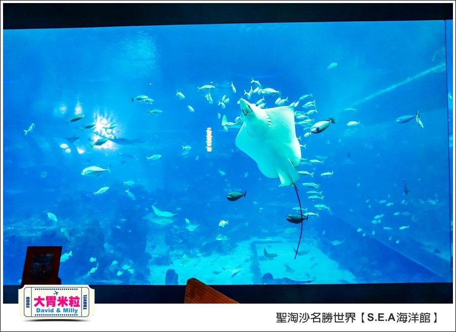 聖淘沙名勝世界必玩@SEA海洋館與海之味餐廳@大胃米粒001 (33).jpg