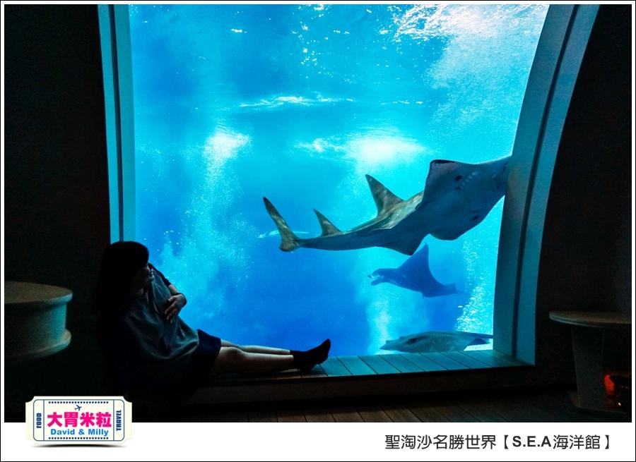 聖淘沙名勝世界必玩@SEA海洋館與海之味餐廳@大胃米粒001 (76).jpg