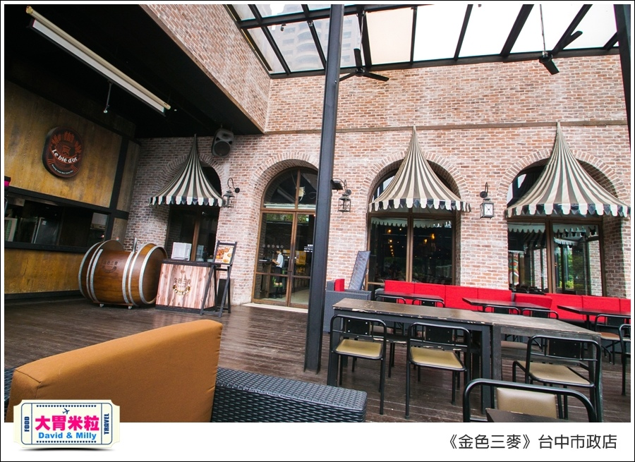 台中啤酒聚餐餐廳推薦@金色三麥台中市政店午餐180元@大胃米粒00008.jpg