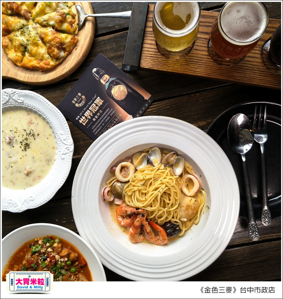 台中啤酒聚餐餐廳推薦@金色三麥台中市政店午餐180元@大胃米粒00057.jpg