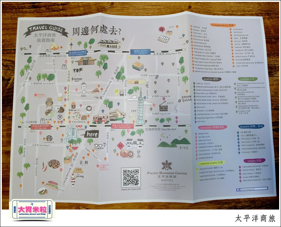 台北太平洋商旅推薦@台北101信義區住宿推薦@大胃米粒0114.JPG