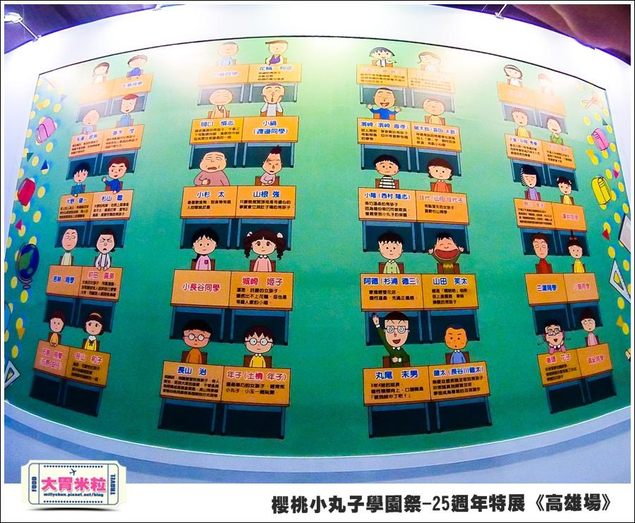 櫻桃小丸子學園祭-25週年特展(高雄場)@大胃米粒0034.jpg