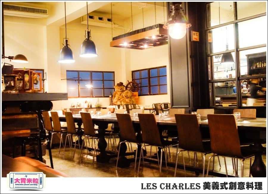 高雄Les Charles美義式餐廳@查爾斯廚房@大胃米粒0014.jpg