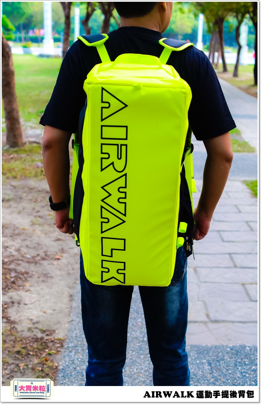 AIRWALK 運動手提後背包@大胃米粒00003.jpg