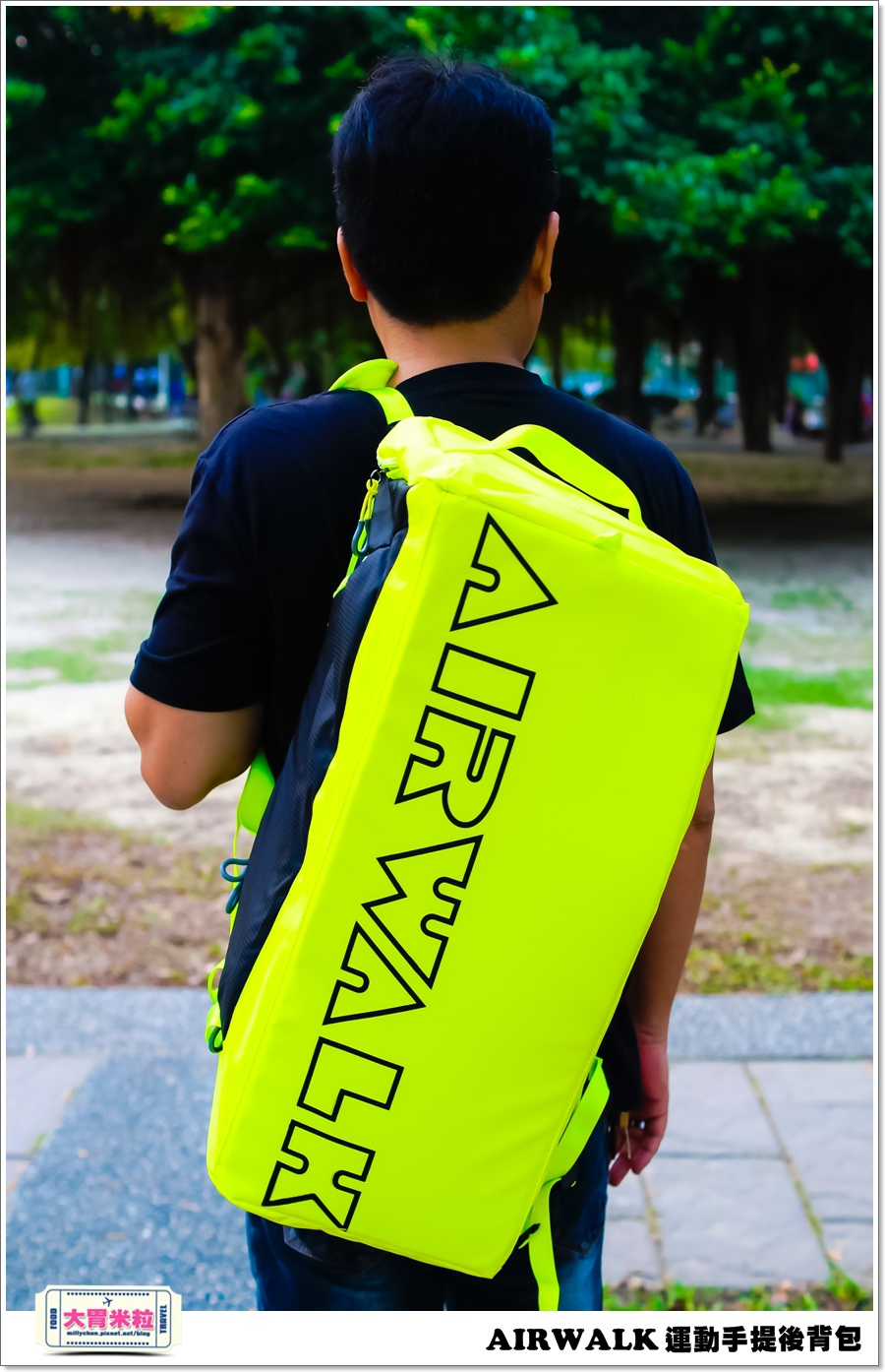 AIRWALK 運動手提後背包@大胃米粒00004.jpg