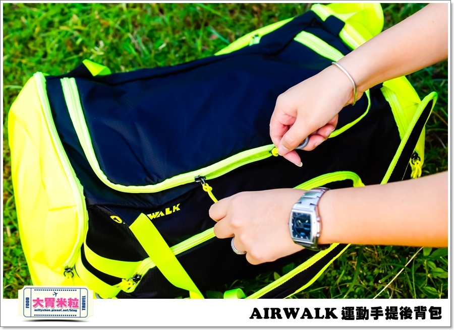 AIRWALK 運動手提後背包@大胃米粒00016.jpg