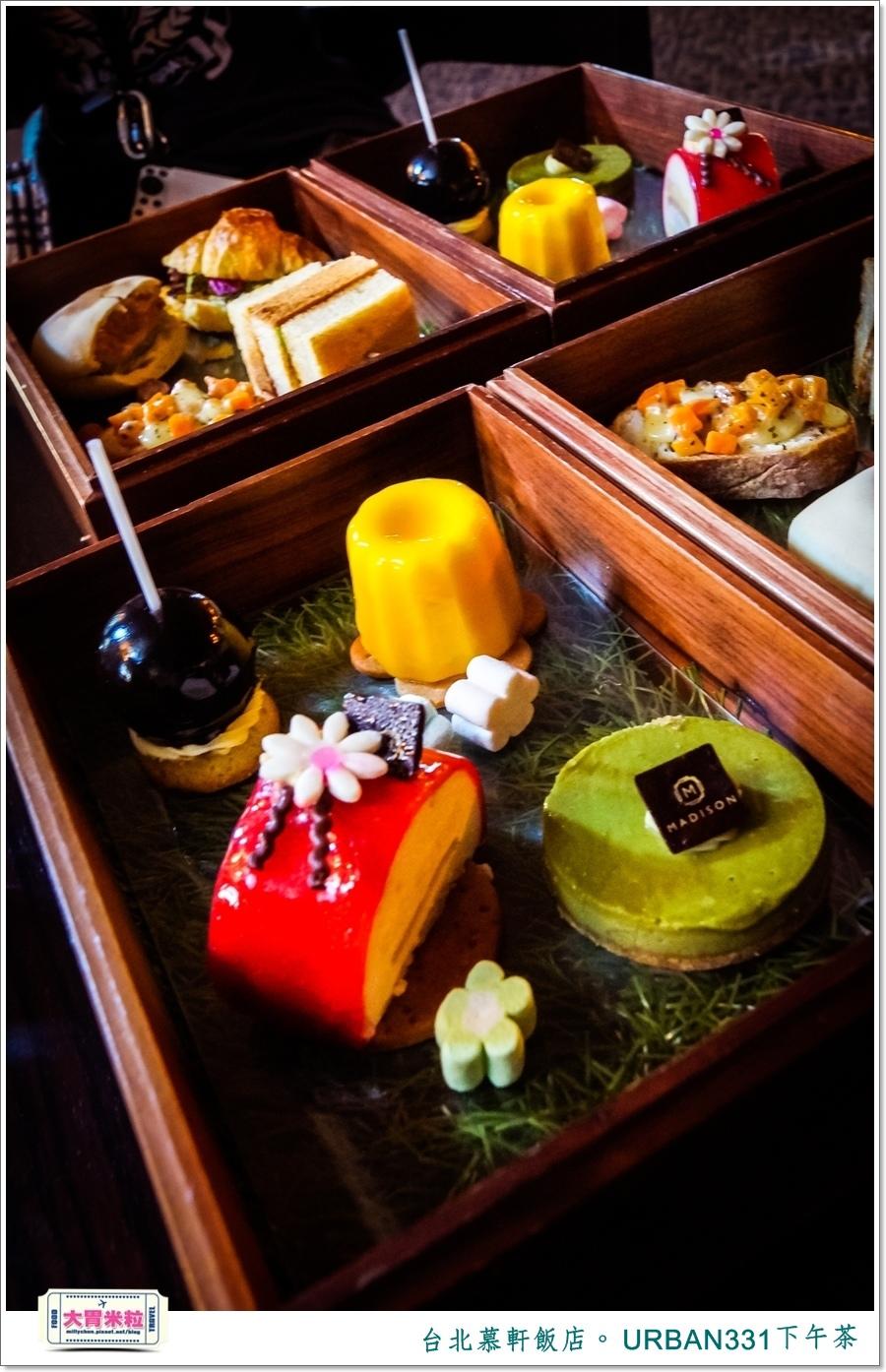台北慕軒飯店 URBAN331雙層木盒下午茶@大胃米粒0034.jpg