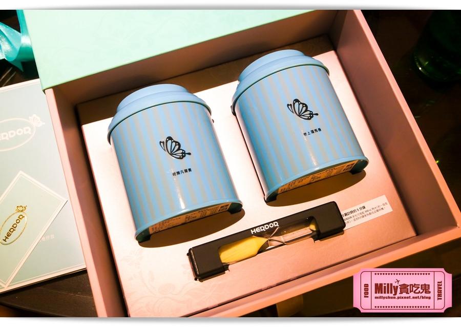 HERDOR 花漾藍絲禮盒0008