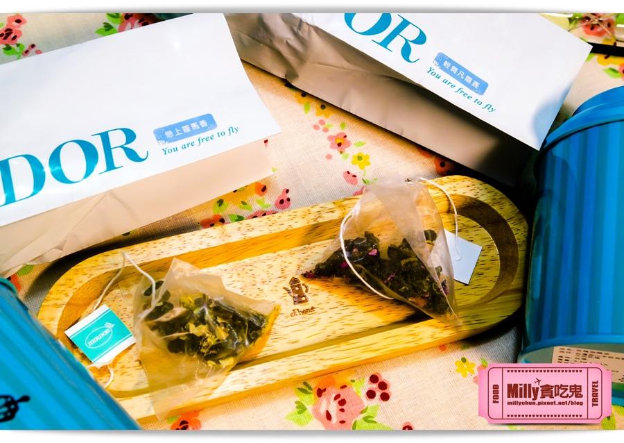HERDOR 花漾藍絲禮盒0019