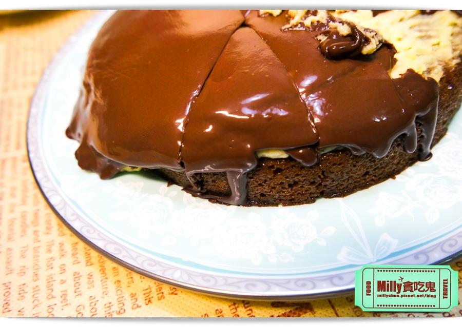 樂樂甜點超濃生巧克力布朗尼蛋糕0006