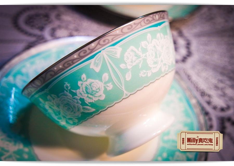 日本NARUMI鳴海骨瓷午茶杯盤組0007