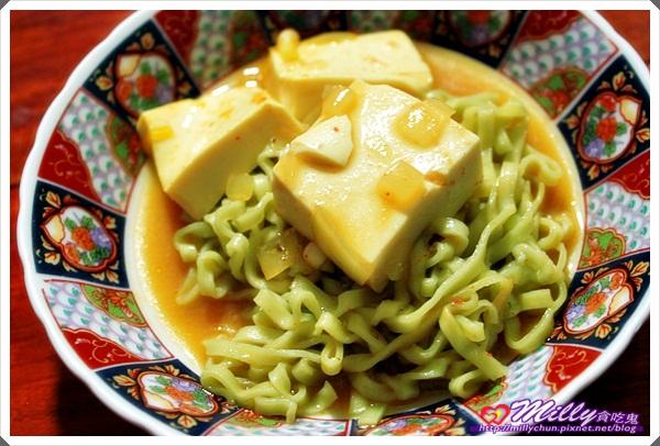 辣豆腐拌麵鍋