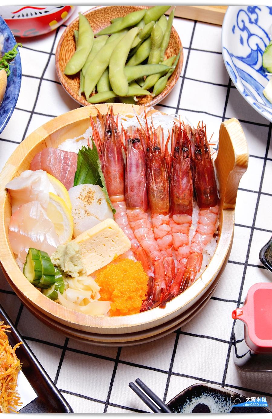 箸福手作壽司丼飯