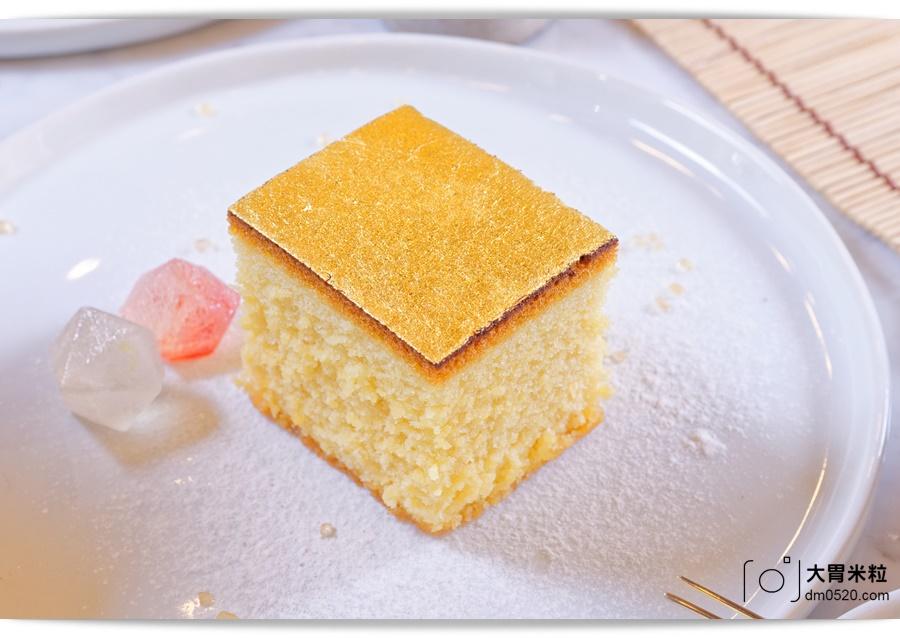 金錦町金箔蜂蜜蛋糕