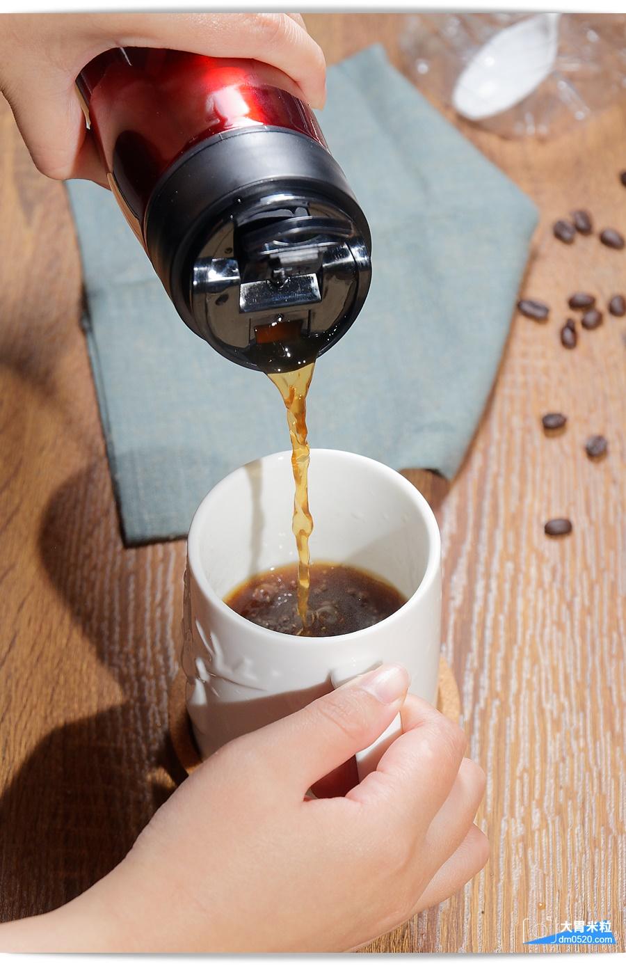 M61雙層隔離式咖啡泡茶保溫壺
