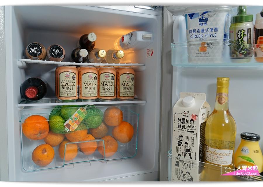 歌林90L雙門小冰箱