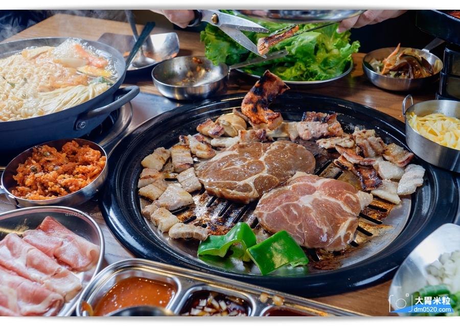 아줌마阿豬媽韓式烤肉x火鍋吃到飽西門店