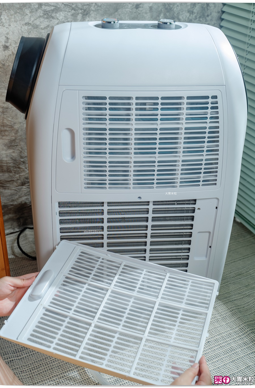 山水冷暖型清淨除濕移動式空調