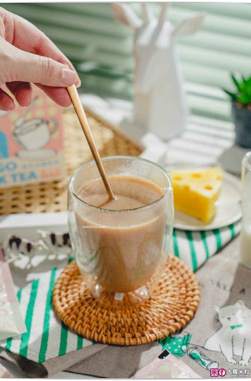 糖老爹益生元纖奶茶