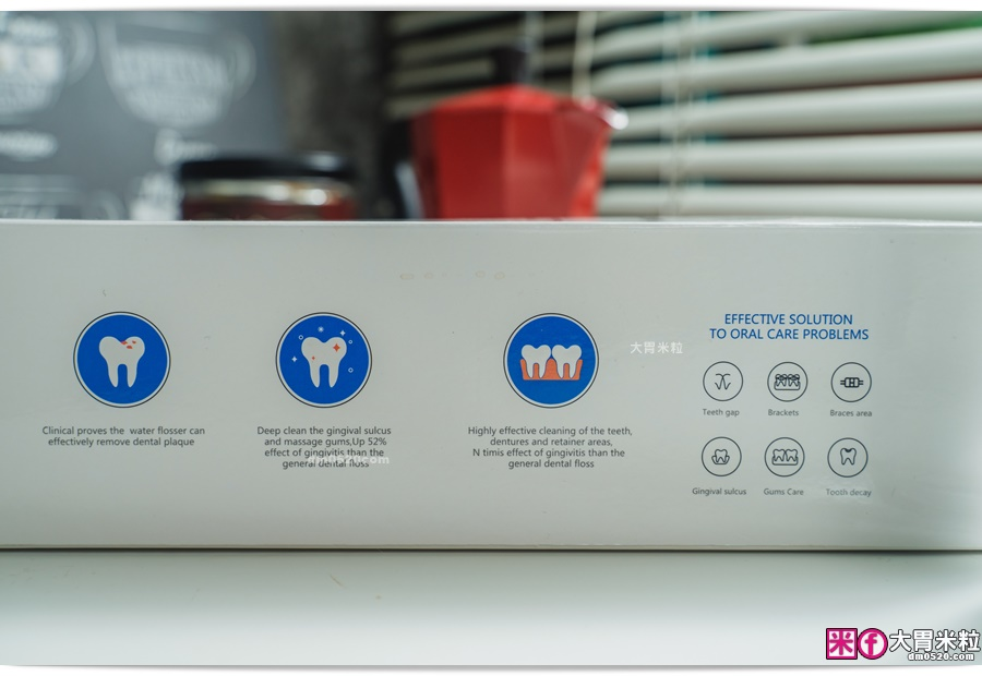 ,Proscenic浦桑尼克脈衝水柱可攜式沖牙機