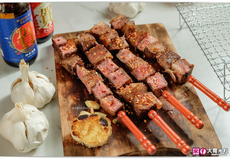 柴燻牛肉烤肉串-阿根廷式烤牛肉推薦