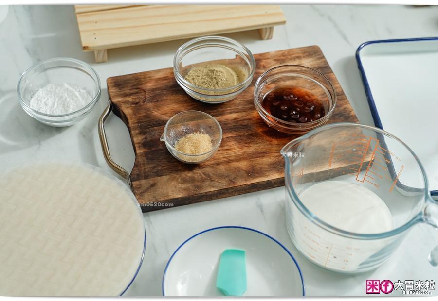 越南米紙麻糬食譜